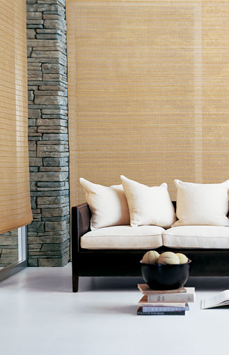Conrad Shades Offering Over 100 Original Shade Designs Made Of Sustainable Natural Fibers In Addition To Roman Fold Shades Elegant Handwoven Draperies Motorized Roll Up Shades A Contemporary Sliding Panel Shade System